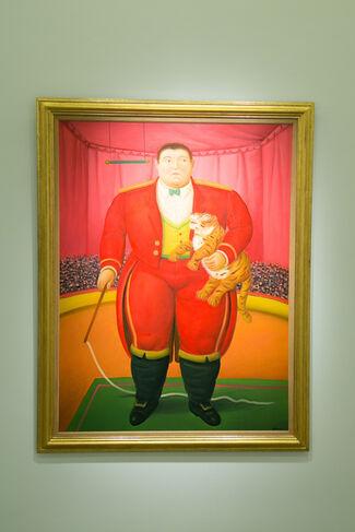 Botero by Fernando Botero, installation view