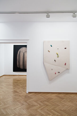 Giles, installation view