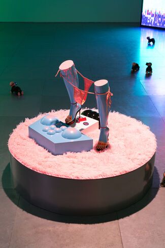 Wong Ping - Who's the Daddy, installation view