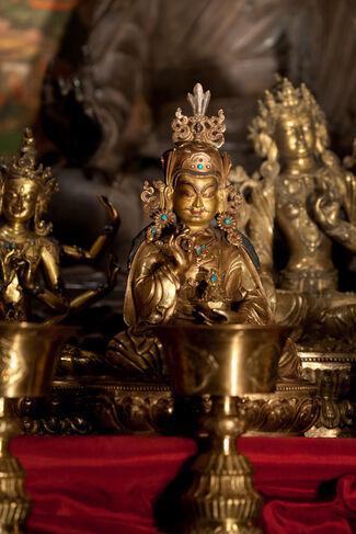 Gateway to Himalayan Art and the Tibetan Buddhist Shrine Room, installation view