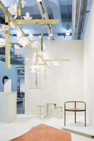 PELLE at Collective Design 2017, installation view
