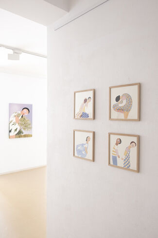And Which Sound – Paintings & Ceramics, installation view
