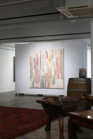 Stick and Stones, installation view