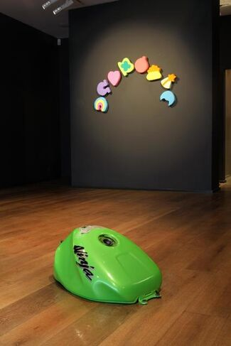 The Frivolous Now, installation view