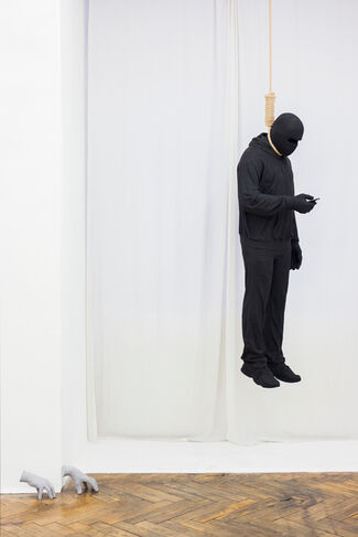Mark Jenkins 'Terrible Horrible', installation view