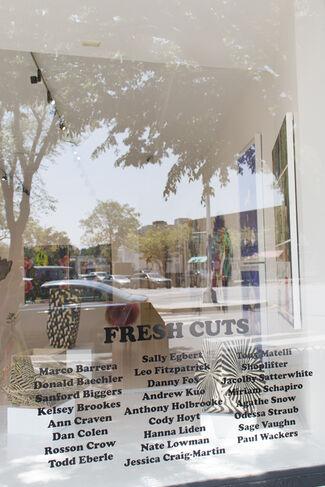 Fresh Cuts, installation view