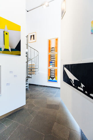 FROM THE ROCKET TO THE MOON, installation view