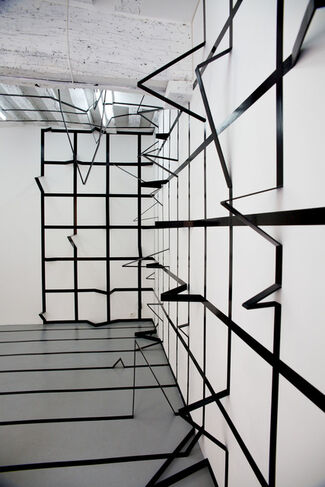 Dirty Geometry, installation view