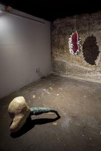 Alyssa Lempesis: Gulp, installation view