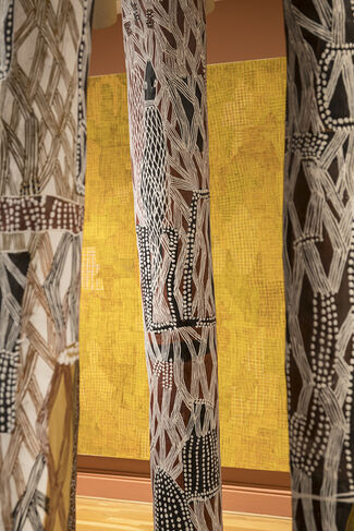 Marking the Infinite: Contemporary Women Artists from Aboriginal Australia, installation view