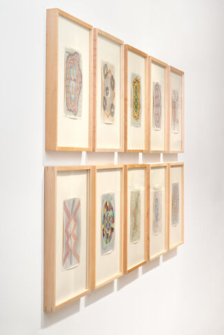 Rochelle Toner: New Watercolor Drawings, installation view