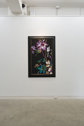 The Aroma of Black (Part II), installation view