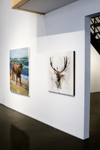 """""""G'ddy Up!"""" - Group Show, installation view"""