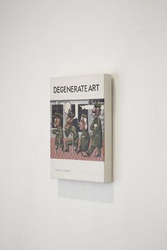 """Petit War Paintings"" Series, installation view"
