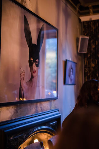 """Tyler Shields """"Provocateur"""" at Imitate Modern & COYA Mayfair, installation view"""