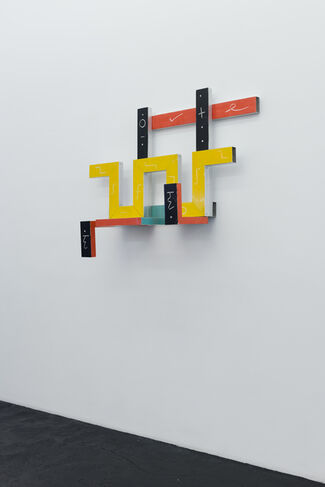 Keith Sonnier »Portal Series and Selected Early Works«, installation view