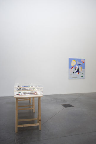 Paradise and Hell, installation view