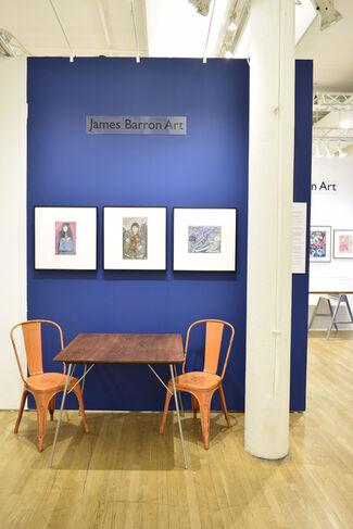 James Barron Art at Outsider Art Fair 2018, installation view