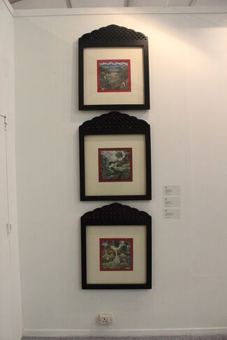 Gallery Espace at India Art Fair 2015, installation view