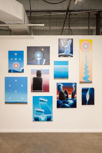 Taymour Grahne Gallery at Dallas Art Fair 2017, installation view