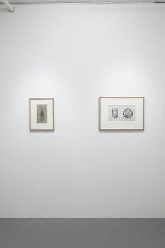 "Tatsuo Kawaguchi ""Copperplate Prints From 1963"", installation view"