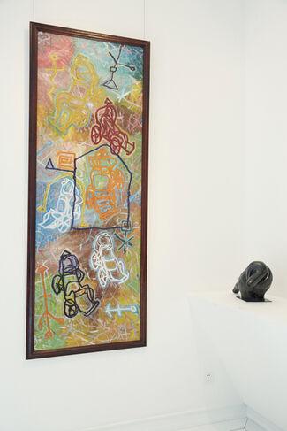 Imprint, installation view