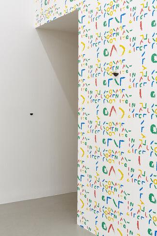 a) b) c) d) e) & f), installation view