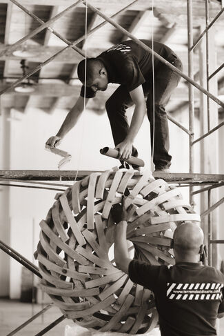 Anillos Concentricos, installation view