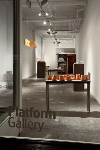 Platform Gallery at Seattle Art Fair 2015, installation view