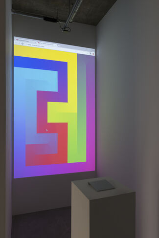 Rafaël Rozendaal | Somewhere, installation view