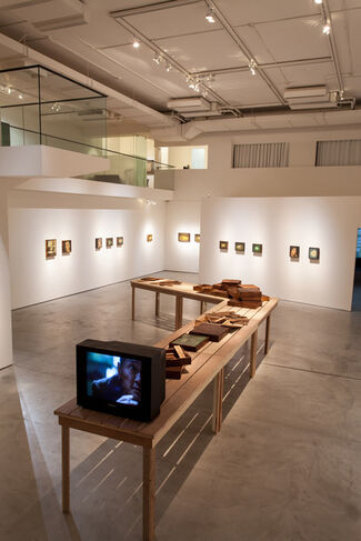 Lin Ju: Mirrored Vignettes, installation view