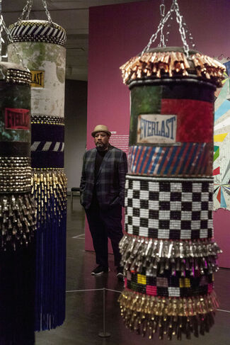Jeffrey Gibson: Like a Hammer, installation view