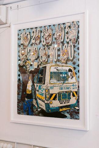Dennis Muraguri: Manyanga, Music, Mischief, Mayhem, installation view