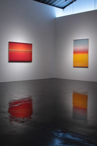 Casper Brindle: Chroma, installation view