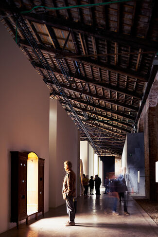 Italian Pavilion, installation view