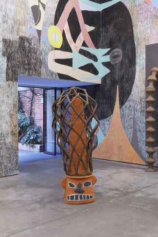 Yann Gerstberger: ICE NEWS & FREEWAY FETISHES, installation view