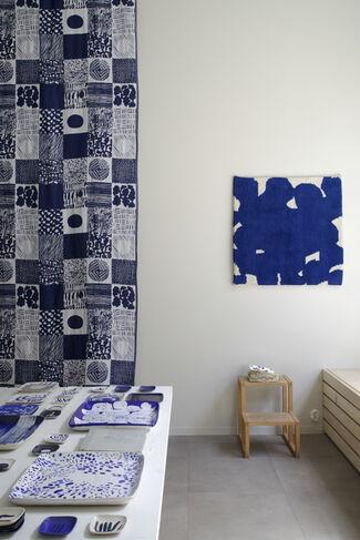 Jenni Rope & Matti Pikkujämsä: Blue Things, installation view