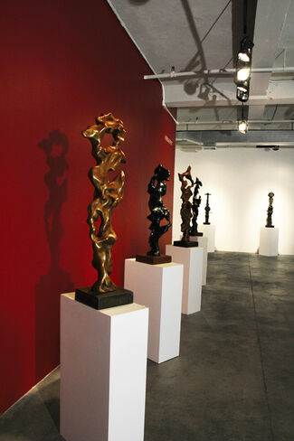 Totems and Deities: The Sculpture of Herb Alpert and Anita Huffington, installation view