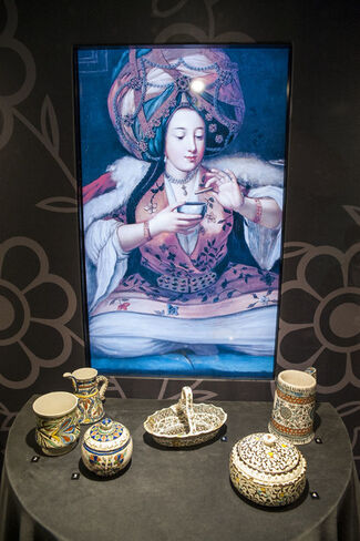 Coffee Break: The Adventure of Coffee in Kütahya Tiles and Ceramics, installation view