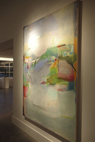 Claudia Mengel: New Paintings and Works on Paper, installation view