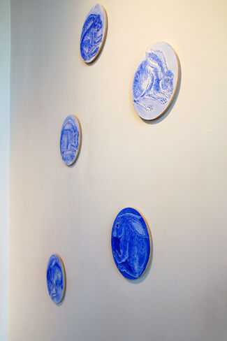 Blue is Not a Color, installation view
