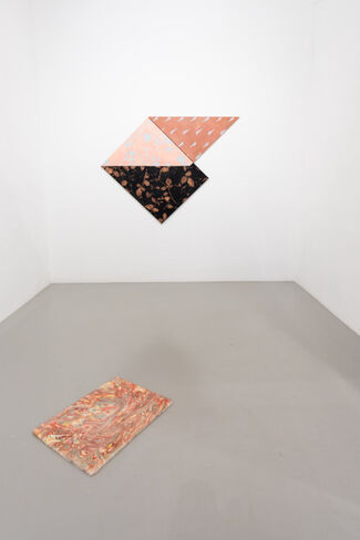 """""""The seed can be initialized randomly II"""", installation view"""