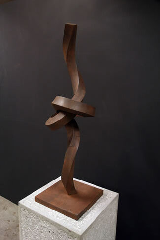 Alberto Cavalieri: Fragmented Knot, installation view