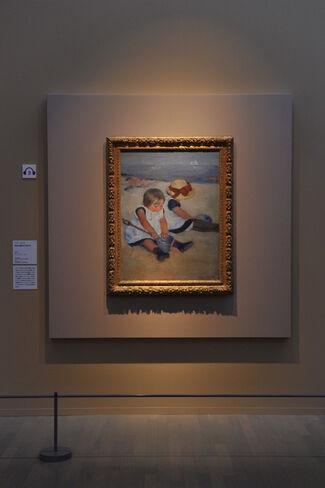 Mary Cassatt Retrospective, installation view