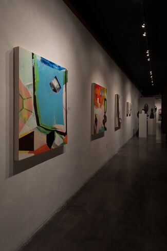 Sprezzatura - with Constance Bachmann + Peter Gross, installation view