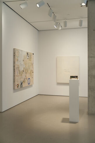 Squeak Carnwath: What Before Comes After, installation view