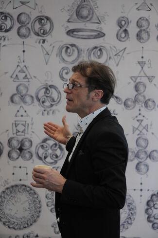 Gabriel Kelemen - Cymatics: when Sound meets Substance, installation view
