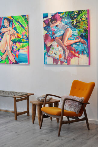 Dreaming in color, installation view