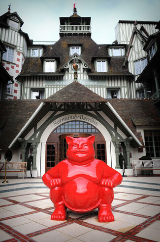Hotel Normandy, Deauville for International Asian Film Festival, installation view