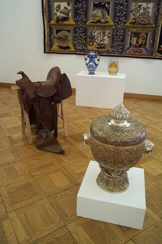 "Gianni Motti: ""Cadeaux diplomatiques"" at Kunstmuseum Thun Thun, installation view"